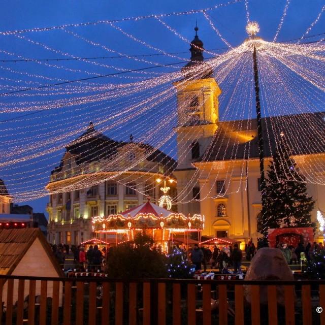 Târgul de Crăciun de la Sibiu