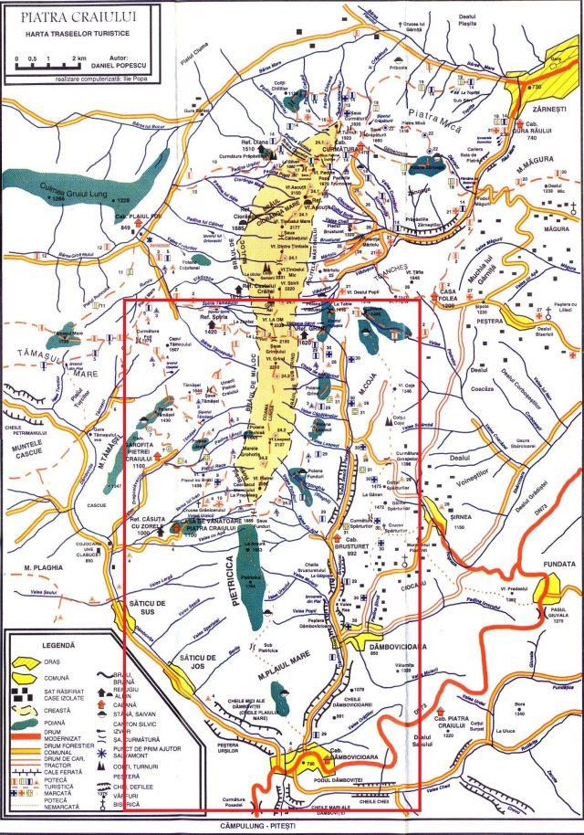 harta-trasee-muntii-piatra-craiului_ReMarking Romania